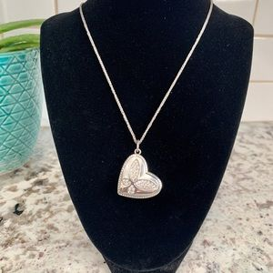 Brighton convertible heart pendant necklace